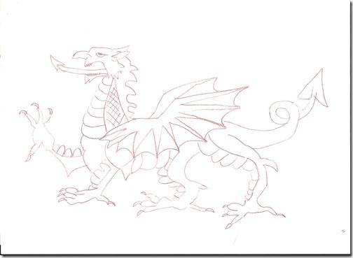 Red dragon (mum)