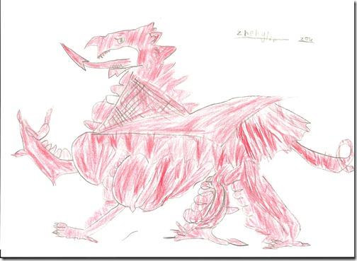Red dragon (Zhenglin 3)